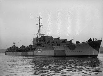 HMS Legion (G74) - Image: HMS Legion