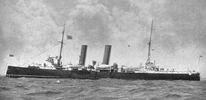 HMS Melampus (1890) - Image: HMS Melampus 1890