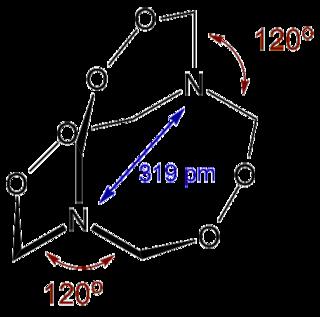 Hexamethylene triperoxide diamine Chemical compound