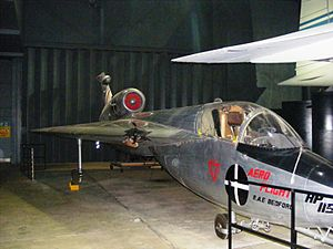 Handley Page HP.115 - HP.115 at the Fleet Air Arm Museum