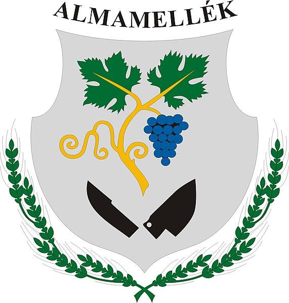 File:HUN Almamellék COA.jpg
