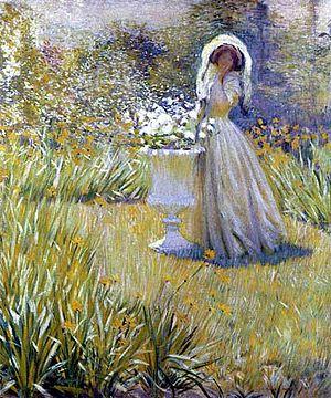 Philip Leslie Hale - Image: Hale Woman in garden