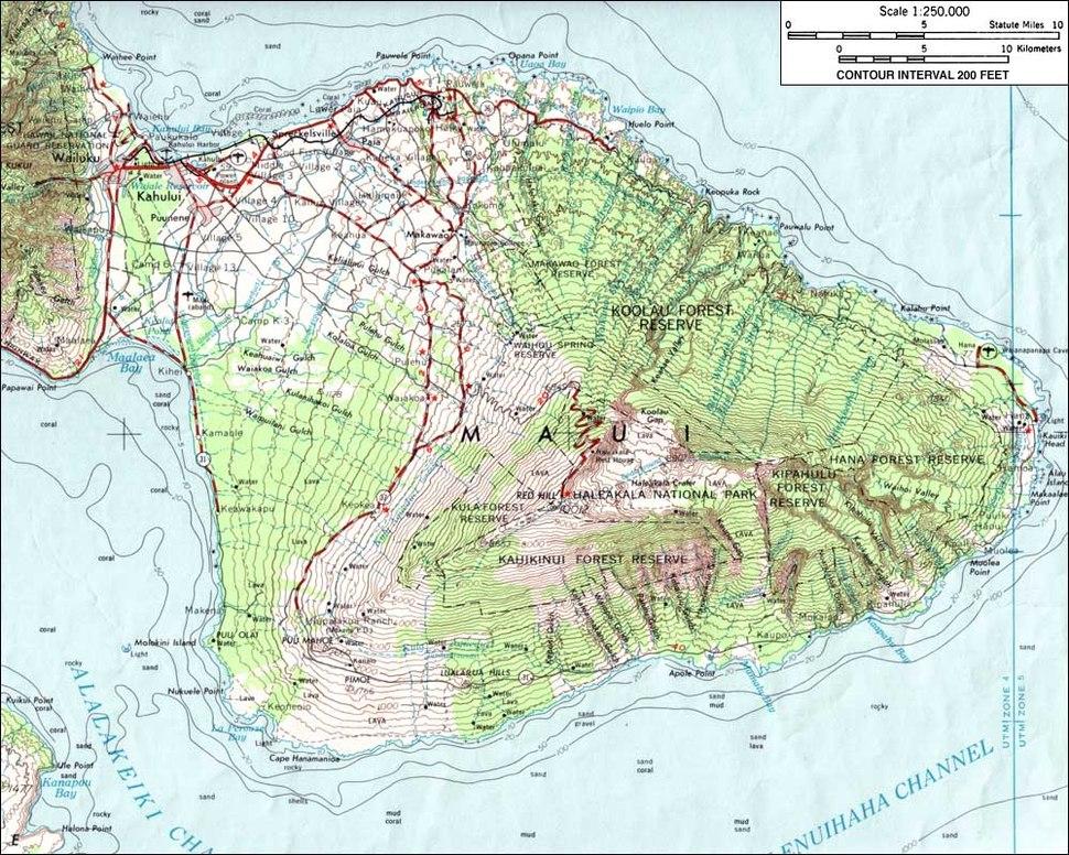 HaleakalaMap