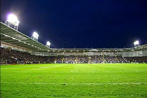Warrington Wolves - Image: Halliwell Jones Stadium