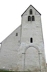 Fil:Hamra kyrka västfasad.jpg