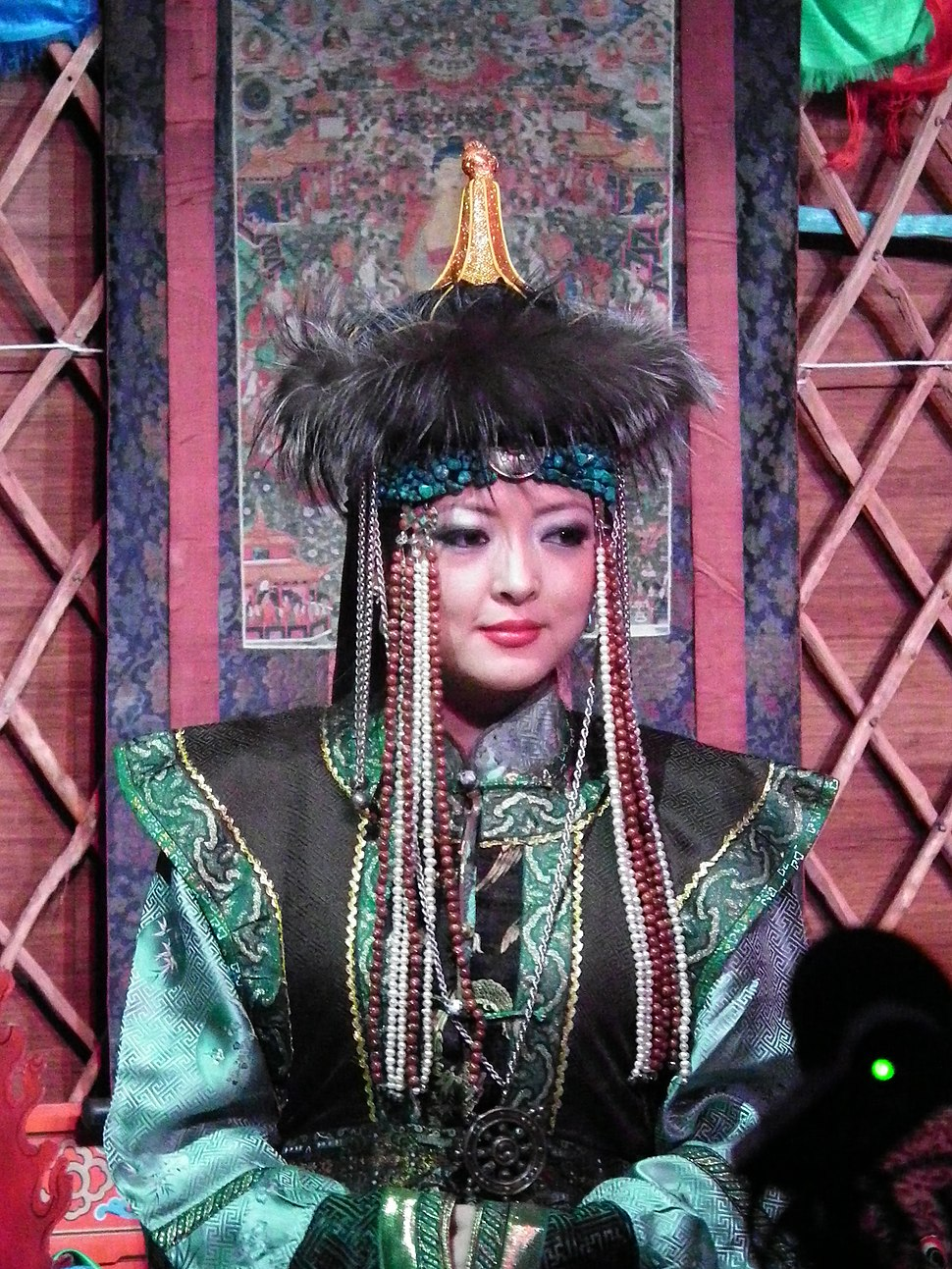 Hamtdaa Mongolian Arts Culture Masks - 0064 (5568565844)
