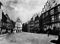 Hanau Altstadt - Altstädter Markt nach Norden (ca. 1900-1930).png