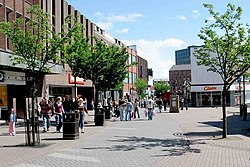 Hanley stoke on trent city centre