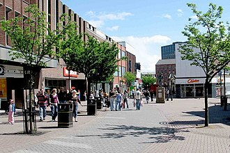 Hanley, Staffordshire - Image: Hanley stoke on trent city centre