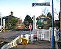 Harling Road station - view across the level crossing - geograph.org.uk - 1702910.jpg
