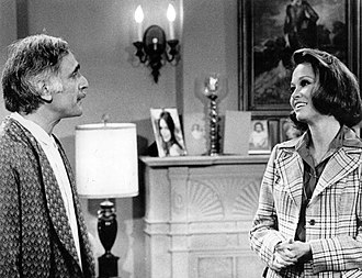 Harold Gould - Gould as Martin Morgenstern on The Mary Tyler Moore Show in 1973.