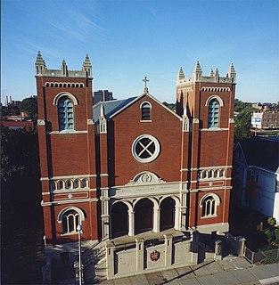 Holy Trinity Roman Catholic Church (Hartford, Connecticut) Church in Connecticut, United States