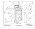 Harvey House, 72-74 McDonald Street, Nanticoke, Luzerne County, PA HABS PA,40-NANTW,1- (sheet 11 of 17).png