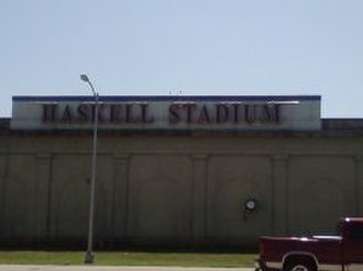 Haskell Memorial Stadium - Image: Haskell Memorial Stadium Lawrence Kansas