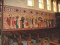 Hasparren (Pyr-Atl, Fr) Chapelle du Sacré-Coeur, mural paints 1.JPG