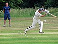 Hatfield Heath CC v. Takeley CC on Hatfield Heath village green, Essex, England 07.jpg