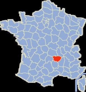 Communes of the Haute-Loire department - Image: Haute Loire Position