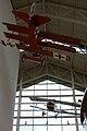 HeadToHead Nieuport 11 Fokker Dr.I Below Fokker tall EASM 4Feb2010 (14412608820).jpg
