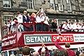 Hearts victory bus.jpg