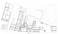 Heike Kamerlingh Onnes - 21 - Floor plan of the Physics Laboratory, Steenshuur Leiden, including the extensions from the period 1890-1904.png