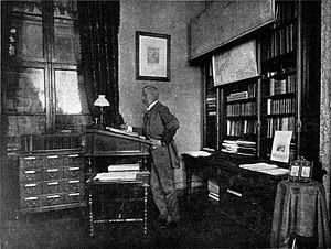 Heinrich Ritter von Wittek - Minister Wittek at his office in Vienna, 1901