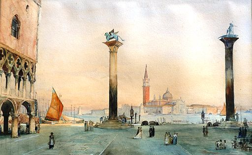 Heinrich Ludwig Philippi aquarell 1864