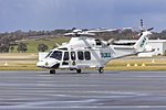 Helicorp (VH-TJF) Agustawestland AW139 at Wagga Wagga Airport.jpg