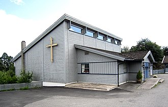 Helle, Telemark - Hellekirken