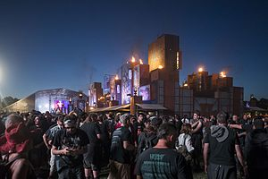 Hellfest (French music festival) - Image: Hellfest 2017 08
