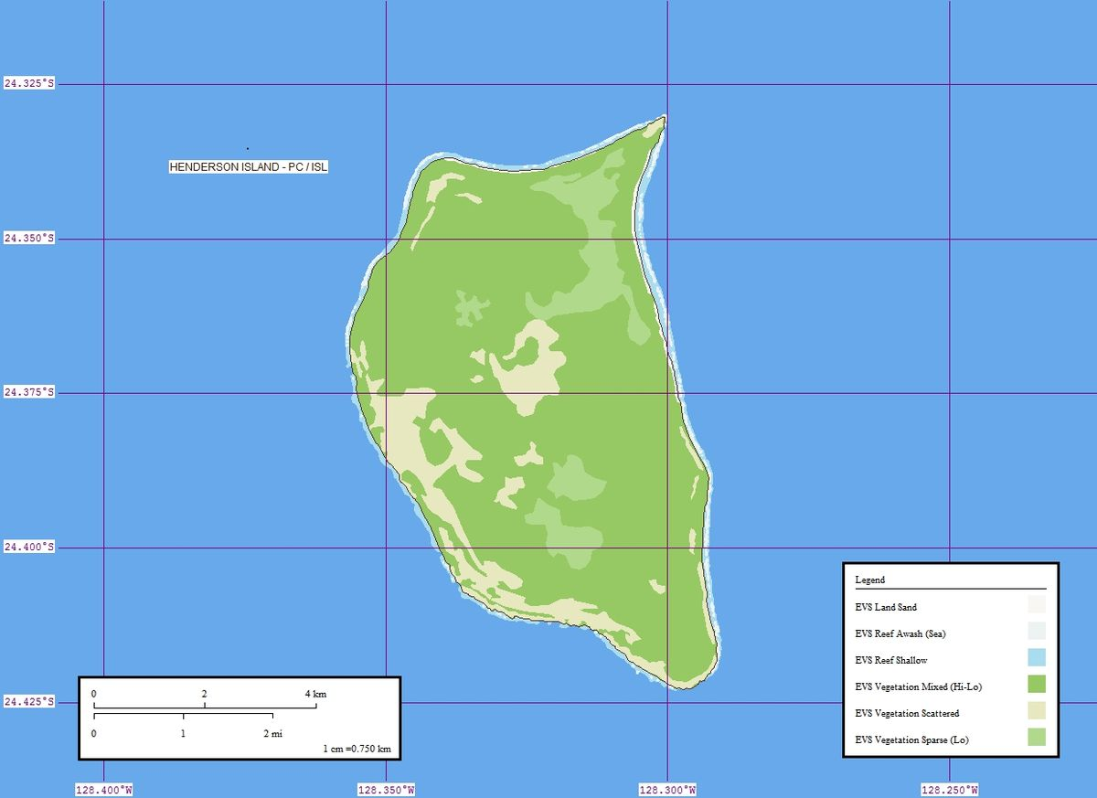 Henderson Island Pitcairn Islands Wikipedia
