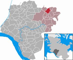 Hennstedt, Steinburg - Image: Hennstedt in IZ