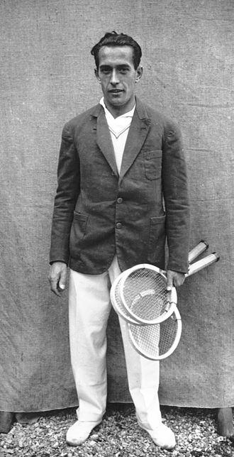 Henri Cochet - Cochet in 1928
