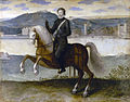 Henri IV, roi de France, à cheval devant Paris – Musée Carnavalet CARP1671 – Collections Paris(dot)fr (adjusted).jpg