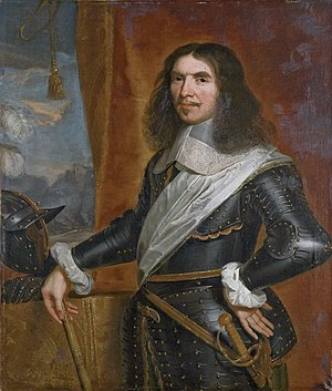 From 1673 to 1676, Sarsfield served under Marshall Turenne, considered the best general of his time Henri de la Tour d'Auvergne, Vicomte de Turenne by Circle of Philippe de Champaigne.jpg