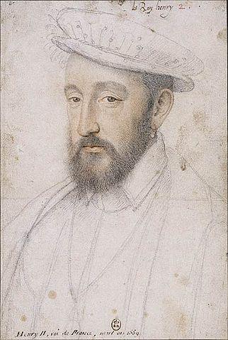 Генрих II, (Франсуа Клуэ, ок. 1553г.)