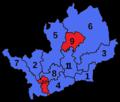 HertfordshireParliamentaryConstituenciesNumbered2005.png