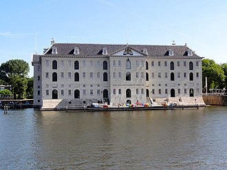 "Admiralty of Amsterdam - 's Lands Zeemagazijn (English ""the arsenal""), former arsenal of the Admiralty of Amsterdam"