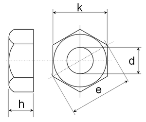 Ecrou Hexagonal Wikipedia