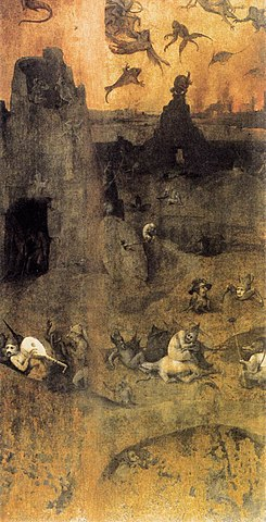 The Nephilim - The fall of the rebel angels of Hieronymus Bosch