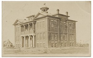 Chillicothe, Texas - Image: High School, Chillicothe, Tx, 1911
