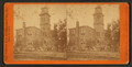 High School building, Cedar Rapids, from Robert N. Dennis collection of stereoscopic views.png
