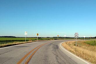 Woodruff County, Arkansas - Highway 64B east of Augusta