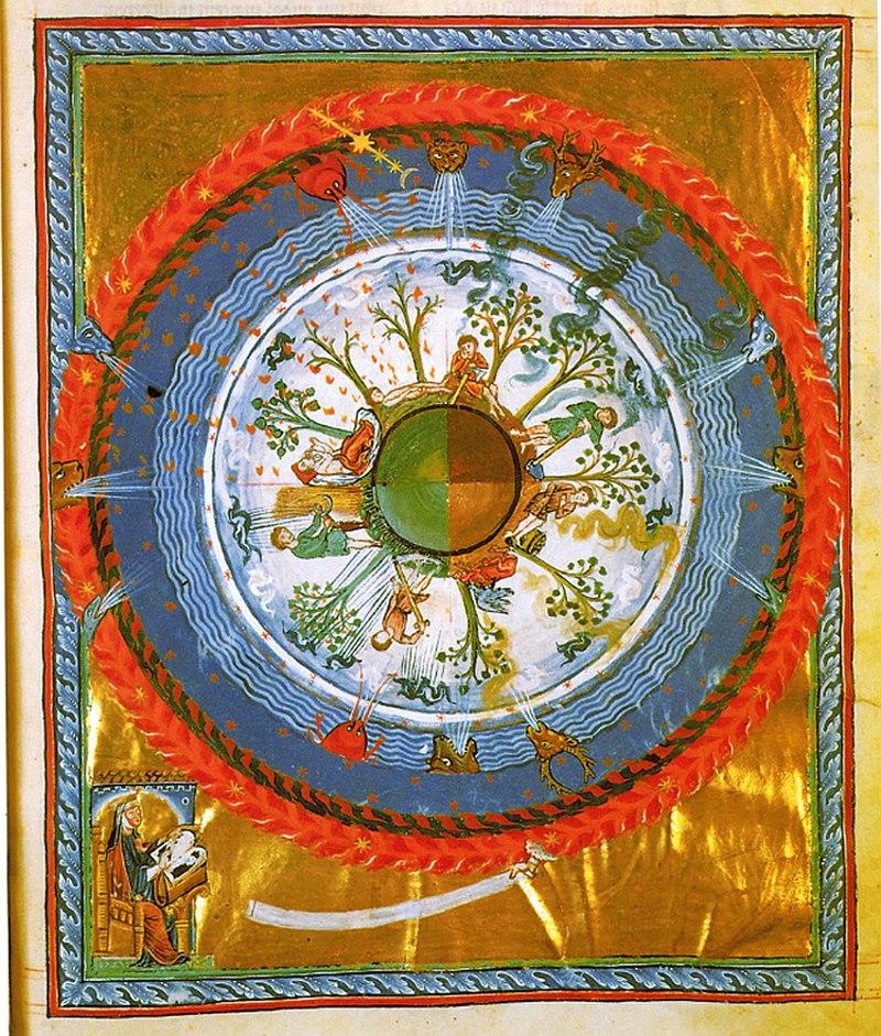 Hildegard von Bingen- %27Werk Gottes%27, 12. Jh..jpg