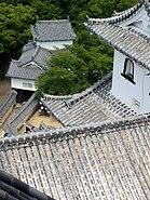 Himeji Castle - roofs
