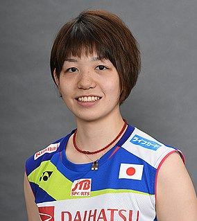 Sayaka Hirota Badminton player