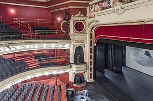 His Majesty's Theatre, Perth - view of the auditorium from the gallery