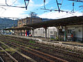 Hisatsu Orange Railway Yatsushiro Station platform.jpg