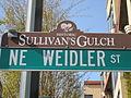 Historic Sullivan's Gulch NE Weidler St.JPG