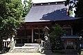 Hitsujisaki jinja (Minato) Haiden.JPG