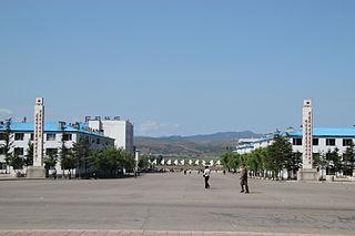 Hoeryong Municipal City in North Hamgyong Province, North Korea